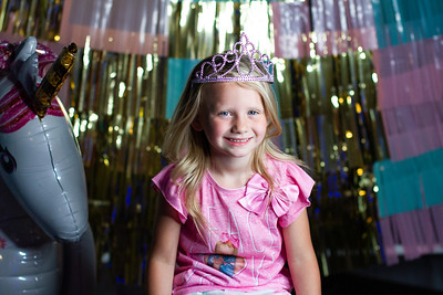 TAZYN TURNS 5 | glamping birthday party