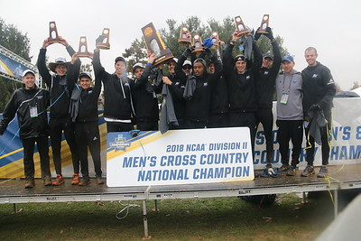 2018 Grand Valley State University Cross Country