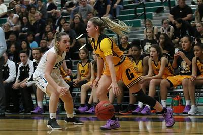 2017-2018 Gilbert Girls Basketball at Highland 2-2-18