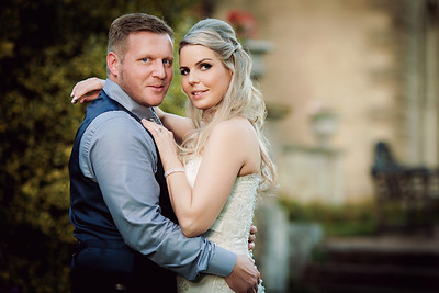 Kate and Paul's Stylish Summer Prestwold Hall Wedding