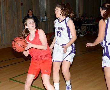 2017 LTS M.S. Girls Basketball vs Maple Street photos by Gary Baker