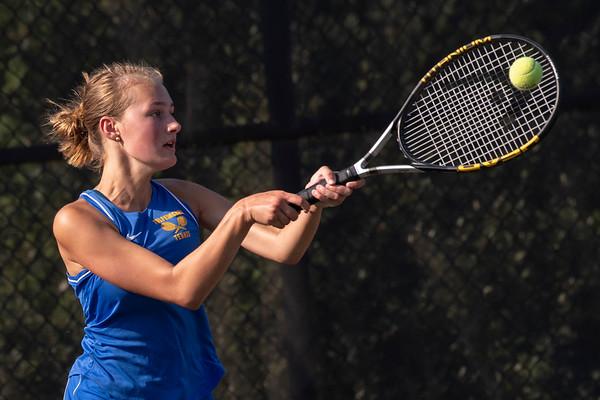 THS Girls Tennis v DB