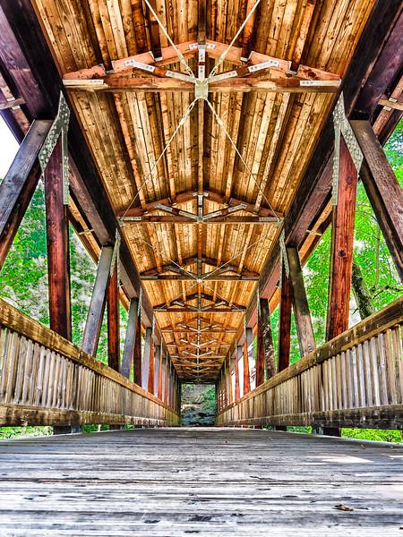 Vickery Creek Covered Bridge