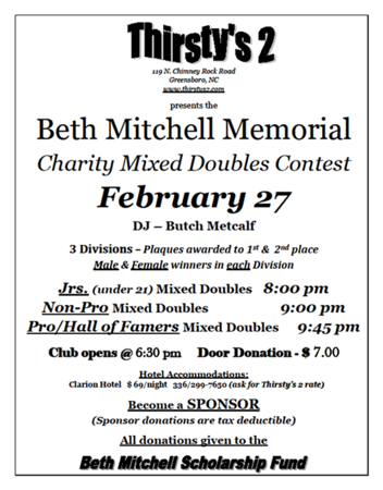 2016 Beth Mitchell Memorial