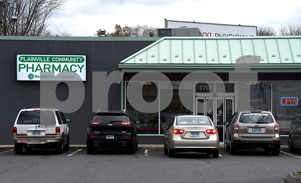 12/1/2017 Mike Orazzi | Staff The Plainville Community Pharmacy in Plainville.