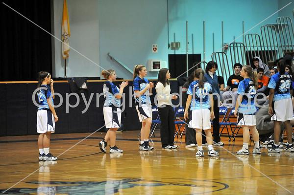 Schuylkill Valley VS Holy Name Girls Basketball 2009-2010