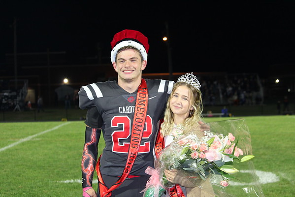 19' Cardinal Homecoming Game and Court Crowning