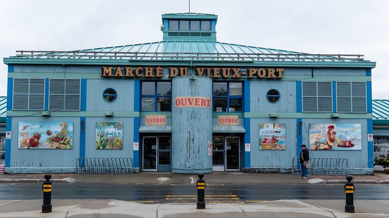 Marche du Vieux-Port de Québec (Farmer's Market)