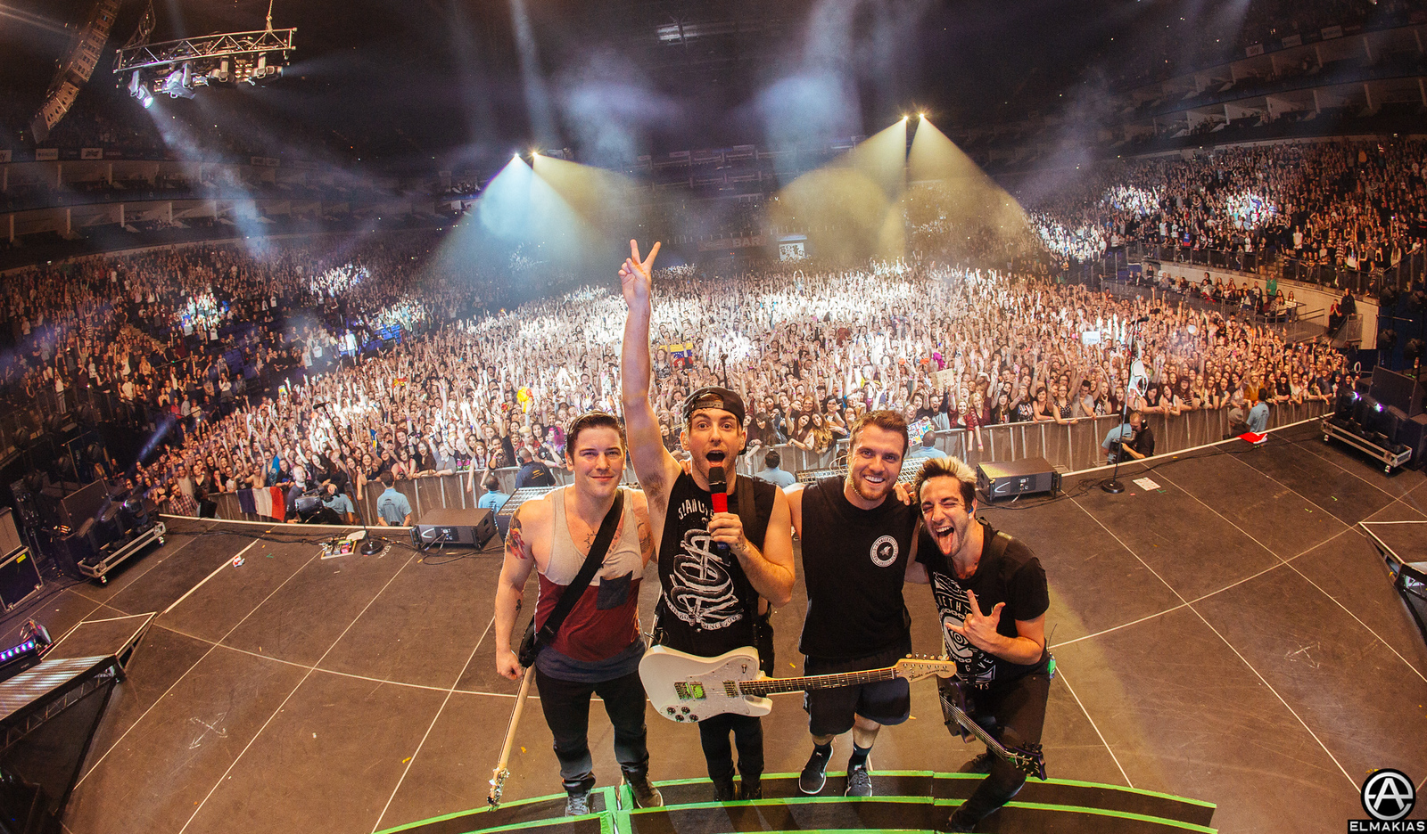 All Time Low at The O2 Arena in London