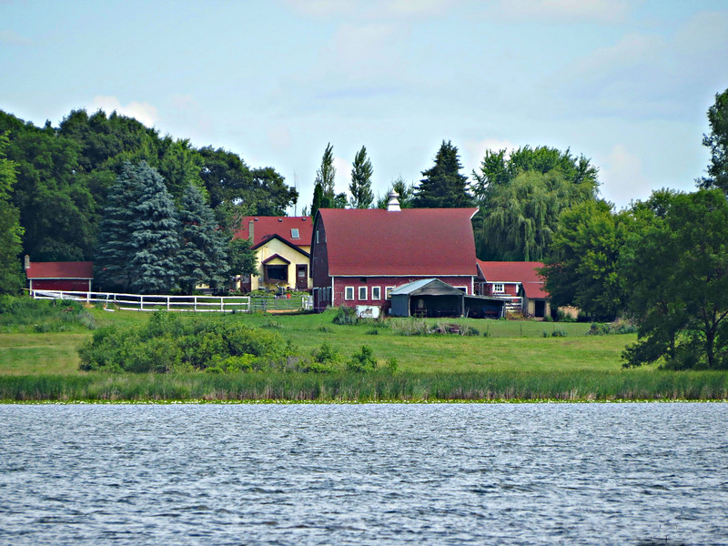 FARM WITH HOUSE AND BUILDINGS