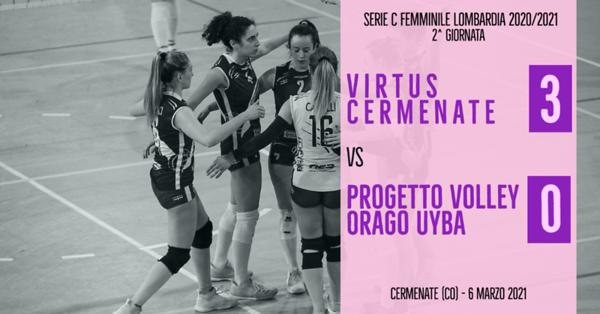 LOM-Cf: 2^ Virtus Cermenate - Orago/UYBA