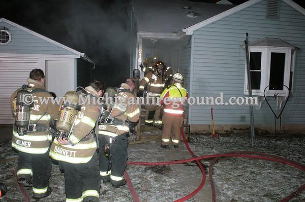 1/8/17 - Mason basement fire, 318 W. Elm