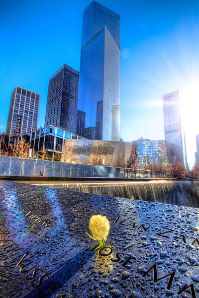 World Trade Center Memorial, North Tower - New York City
