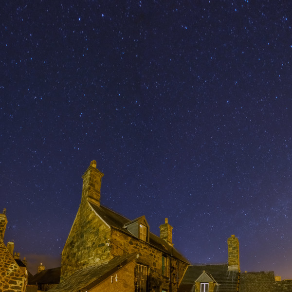 Stars above  Dolgellau