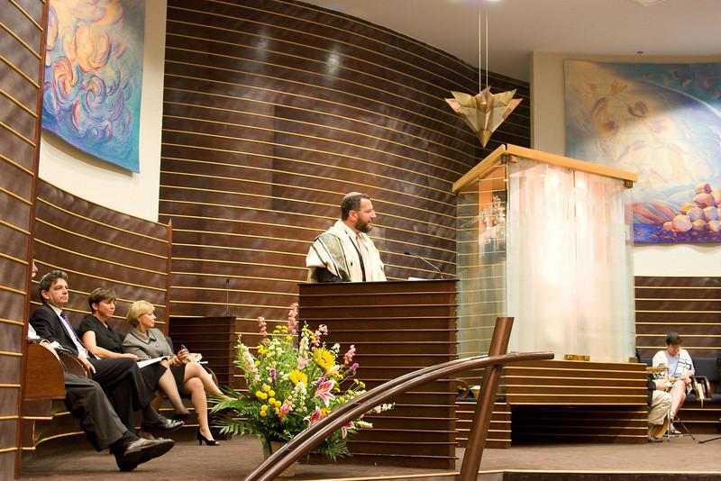 Rabbi Greg Harris -- Siyum HaTorah -- Beth El's Project 613: Writing a Torah