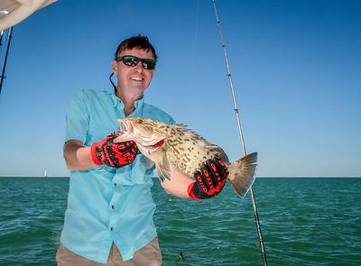 Back Country Fishing, Key West FL Dec., 2019