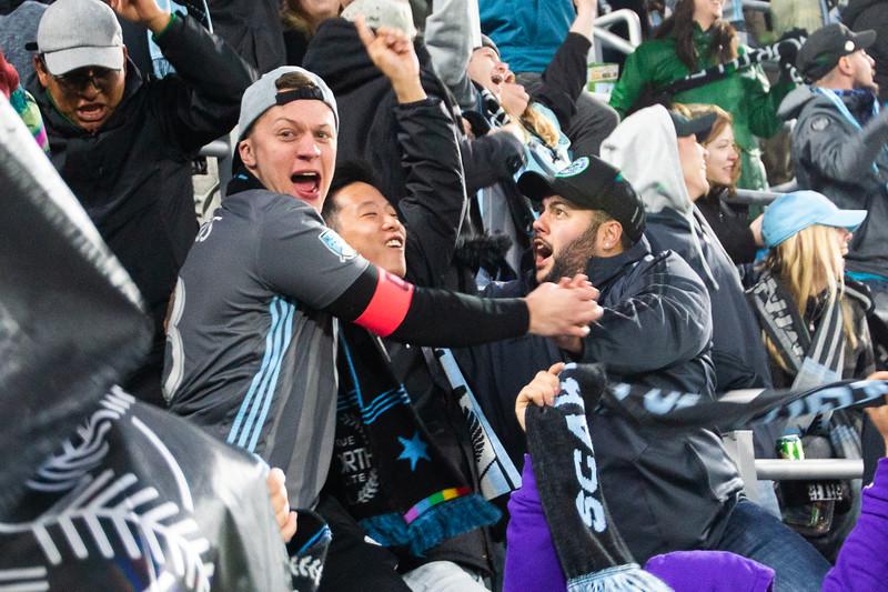 True North Elite, Goal, Screaming, Celebration