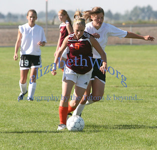 Teton Valley Girls Soccer #10 vs Snake