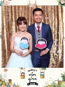 Wedding of Alan & Grace