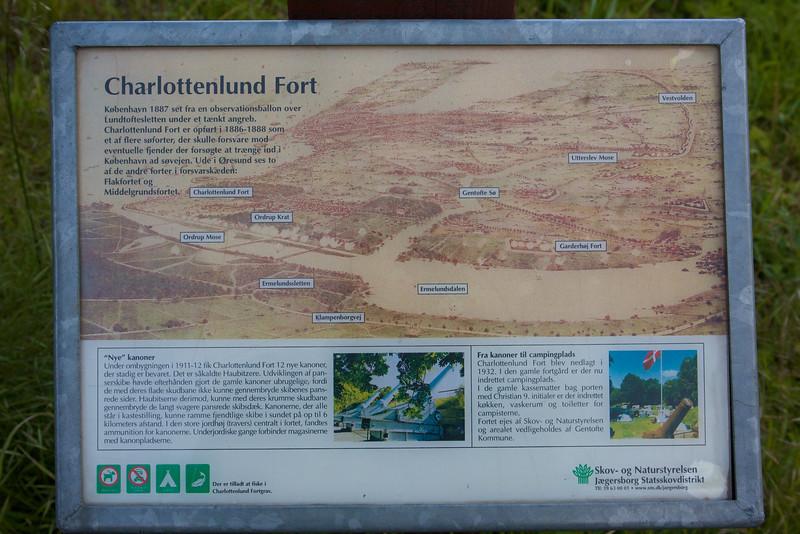 Charlottenlund fortet - juni 2009