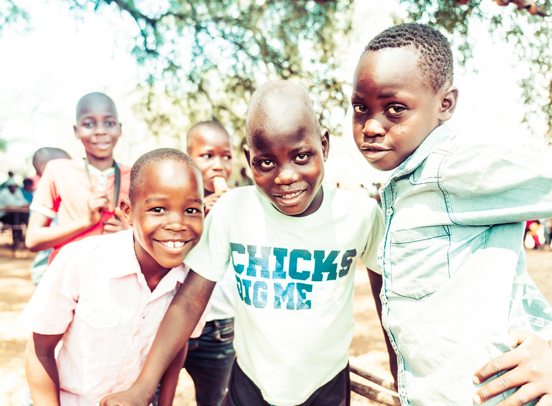 Cute Kids in Africa
