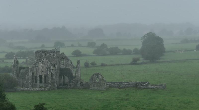 Hore Abbey in the Rain