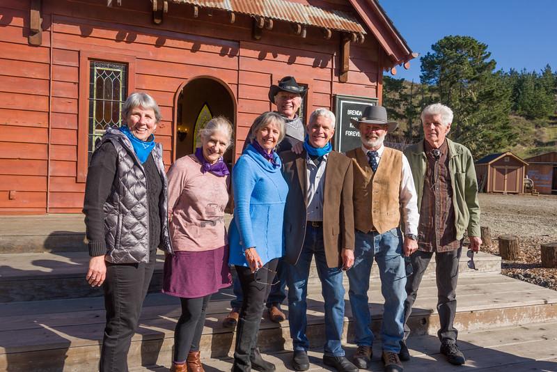 Nadine, Kathy, Brenda, Doug, Kirk, Tom, Michael