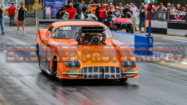 Jeffers Motorsports Park Outlaw 440 Pro Mod May 2016