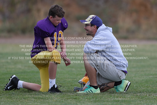 September 22, 2016 Bayfield 7th Grade Football vs Pagosa Springs