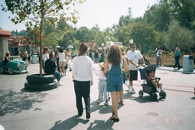 Disneyland September 2001