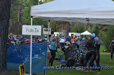 Lake Tahoe Triathlon Swim 2012
