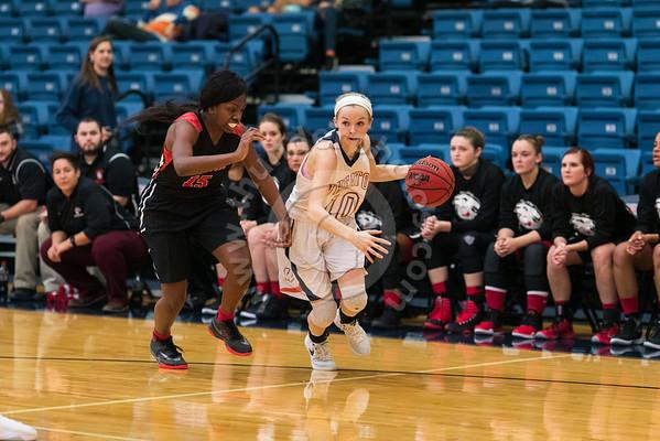 Wheaton College Women's Basketball vs Blackburn College, November 18, 2016