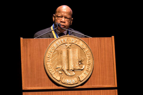 April 10 - Congressman John Lewis speaking at UCLA.jpg
