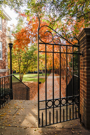 Greene Hall Gates