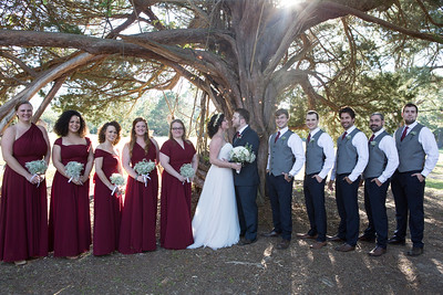 Rutherford-Burnham Wedding