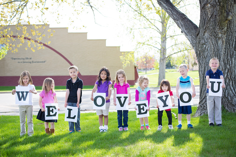 Kindergarten We love you