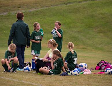 Woodstock Rec Soccer Girls 5/6 - Brownsville 9/13/13