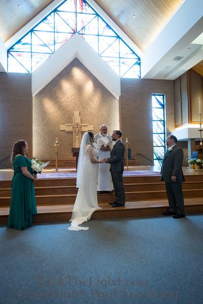 Karin and Steve's Wedding - Service