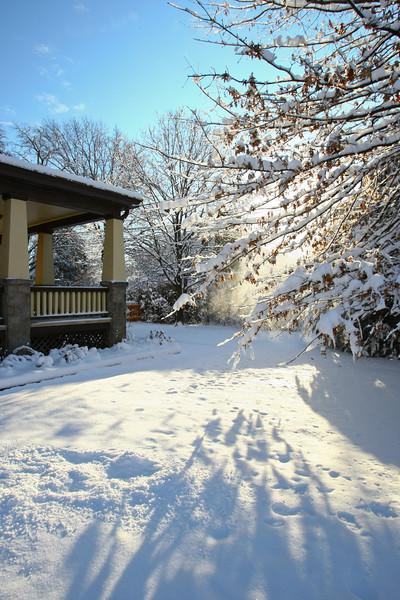 Winter Snow, Glenolden, Pennsylvania.
