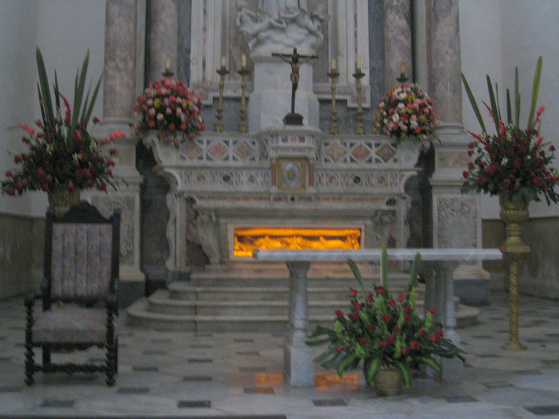 Tomb of St. Peter Claver