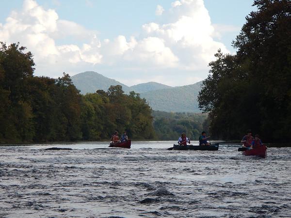Canoeing on the Shenandoah, Oct. 4, 2013