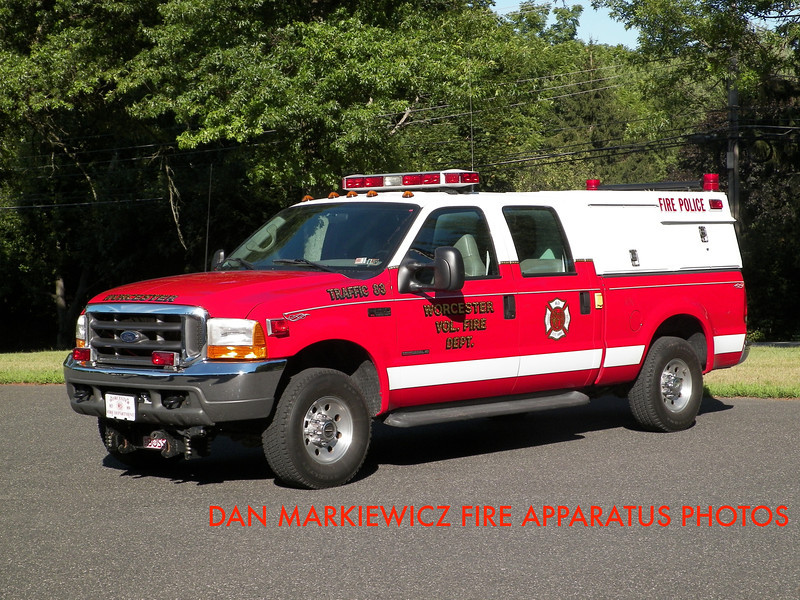 WORCESTER TWP. FIRE DEPT. TRAFFIC 83 2000 FORD/WTFD TRAFFIC UNIT