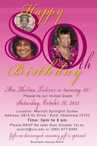 Happy 80th Birthday Thelma Toliver Oct 26, 2013