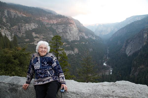 Nela and Ruth in Yosemite 2011