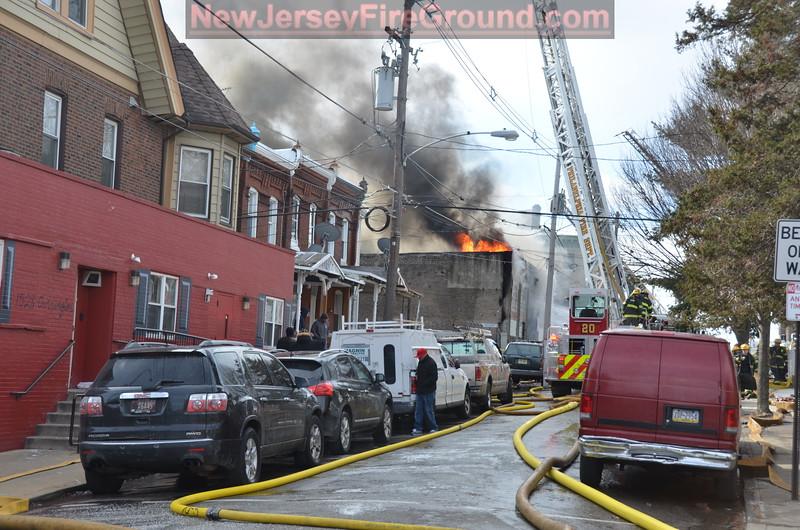 2-13-2016 PHILADELPHIA PA 4600 blk. Griscom St.-6 Alarm Building