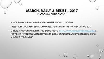 2017 Protest Highlights Slideshow