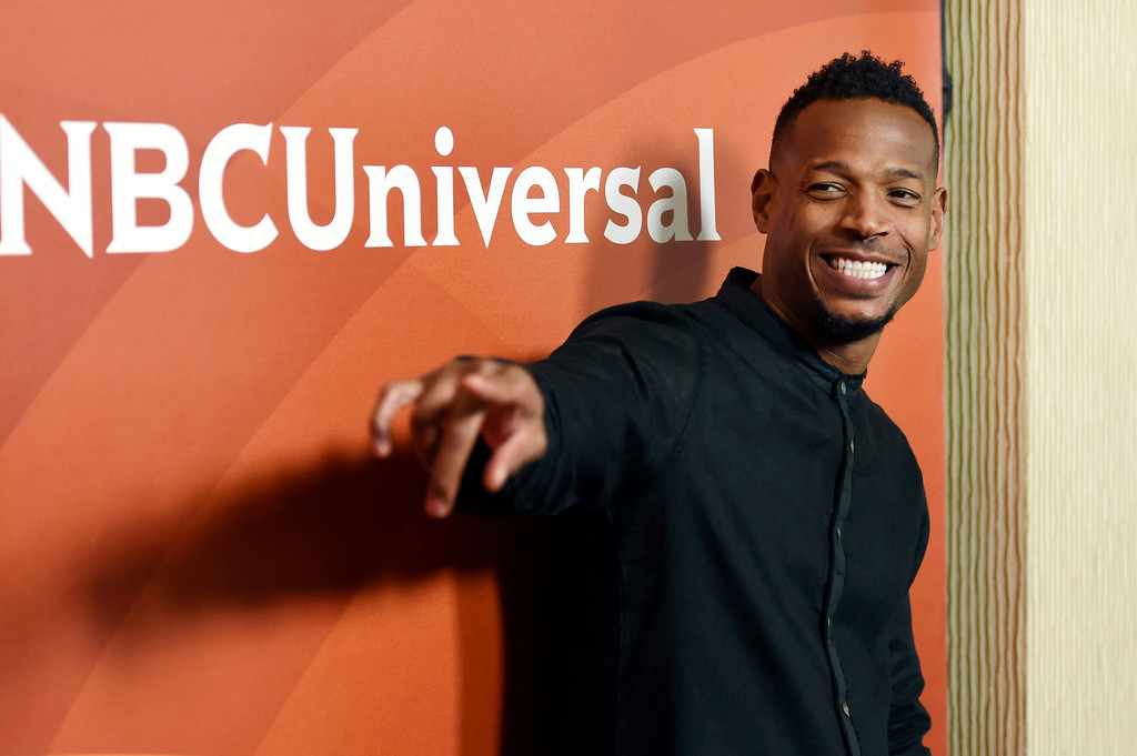 ". Marlon Wayans, a cast member in the NBC series ""Marlon,\"" poses at the 2017 NBCUniversal Summer Press Day at the Beverly Hilton on Monday, March 20, 2017, in Beverly Hills, Calif. Wayans performs at the Cleveland Improv on May 19-21. For more information, visit clevelandimprov.com. (Photo by Chris Pizzello/Invision/AP)"