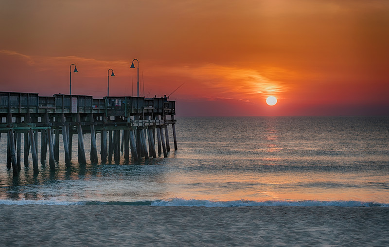 Pier at Sandbridge, Virginia