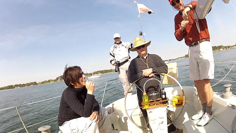 4/14 Opening Day Austin, Jon Deutsch, Michael Schmidt, and Dacre in the cockpit.