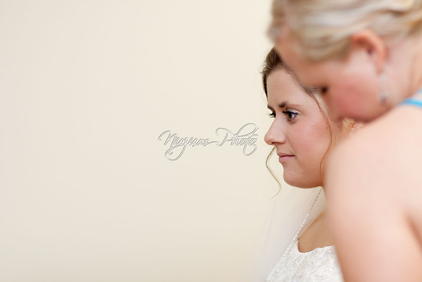 Getting Ready - Kate and Logan